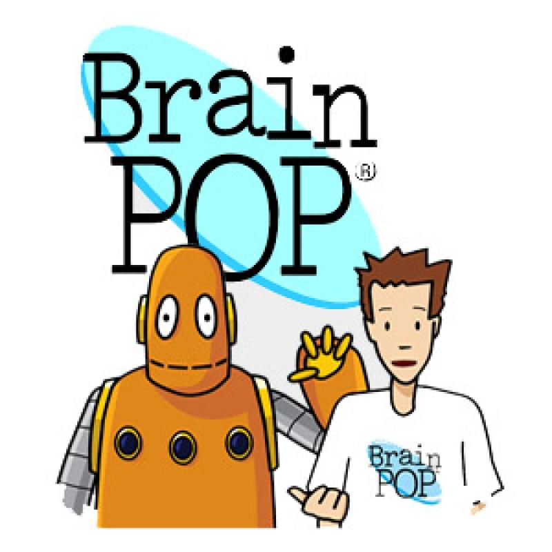 robot and boy brain pop link