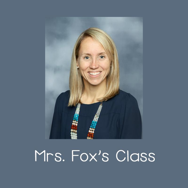 Mrs. Fox's Class Page Link