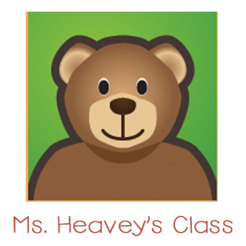 Teddy Bear icon link for Heavey's class
