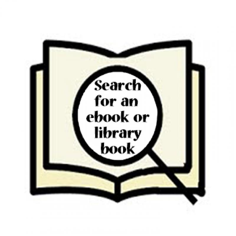 Search for an ebook or library book clip art