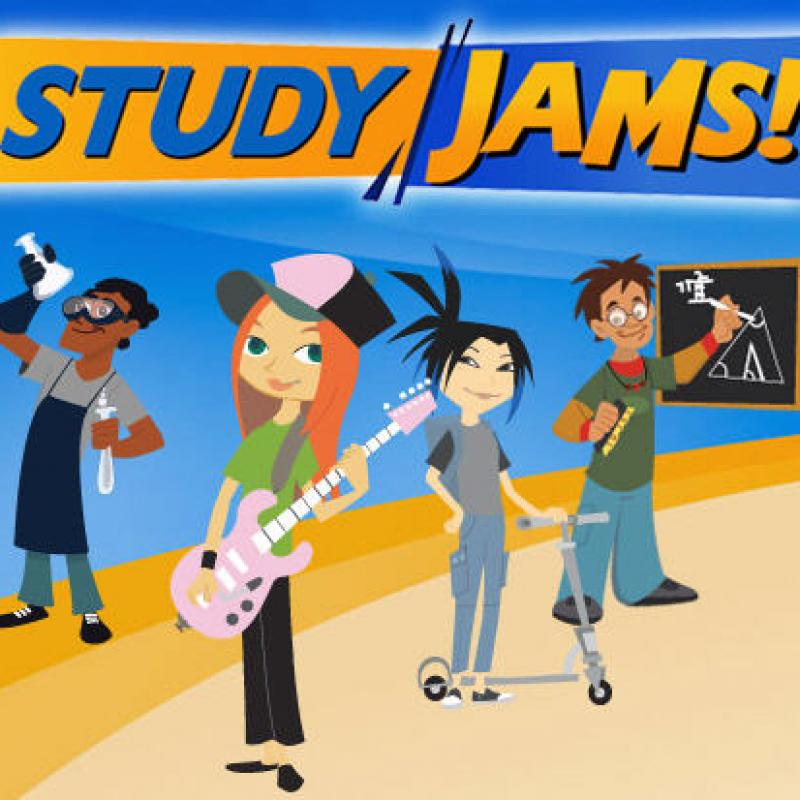 students study jams link